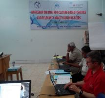 International workshop of BMPs for culture-based fisheries and relevant capacity building needs