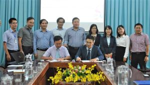 Signing cooperation on training and services with Military Commercial Joint Stock Bank