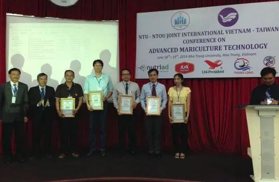 The 4th Vietnam - Taiwan International Conference on Advanced Mariculture Technology