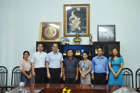 Meeting with the representative of Taipei Economic and Cultural Office in Vietnam