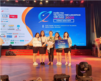 NTU's students won second prize in semi-final of Viet Nam Young Logistics Talents 2020 Contest